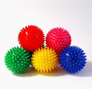 Masāžas bumbiņa 10 cm