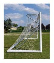 Futbola vārti 7.32 x 2.44 m brīvi stāvoši - alumīnija UNI-EN 748 (art.5900)