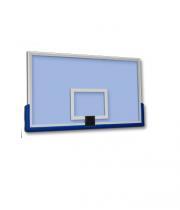 Basketbola vairogs no rūdītā stikla 1800 x 1050