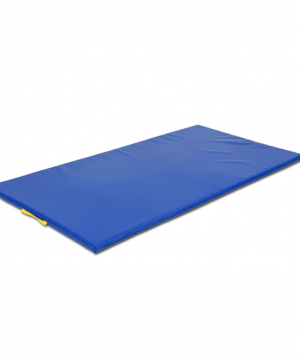 Vingrošanas paklājs 200 x 100 x 6 cm (zila krāsa)