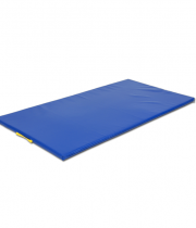 Vingrošanas paklājs 200 x 100 x 8 cm (zila krāsa)
