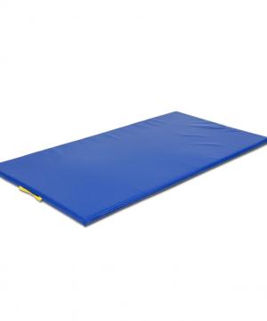 Vingrošanas paklājs 200 x 100 x 10 cm (zila krāsa)