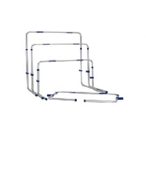Alumīnija barjera ar regulējamu augstumu 55-84 cm