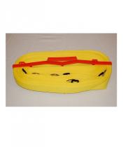 Pludmales volejbola laukuma līnijas SINVERT Yellow