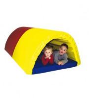 Bērnu rotaļlieta Lielais tunelis - Mīksto elementu komplekts 4 m