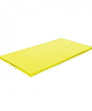 Vingrošanas paklājs 200 x 100 x 9 cm (dzeltena krāsa)