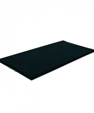 Vingrošanas paklājs 200 x 100 x 9 cm (melna krāsa)