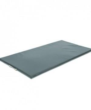 Vingrošanas paklājs 200 x 100 x 8 cm (pelēka krāsa)