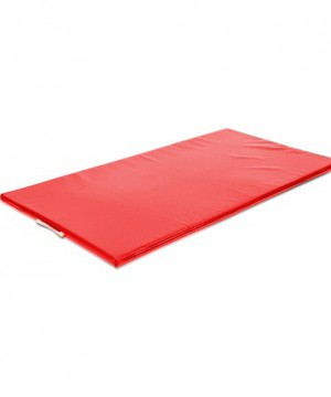 Vingrošanas paklājs 200 x 100 x 10 cm (sarkana krāsa)