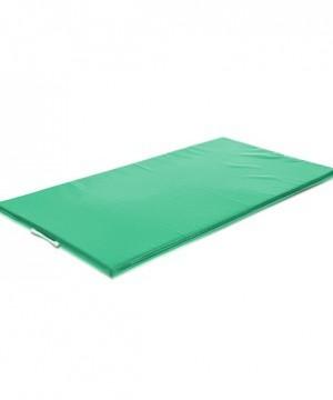 Vingrošanas paklājs 200 x 100 x 8 cm (zaļa krāsa)