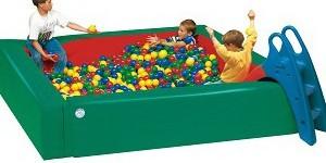 Bērnu bumbiņu baseini – mīkstie rotaļu elementi