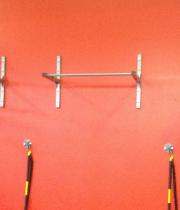 Pivilkšanas stienis sienai/griestiem (No sienas 36 cm)