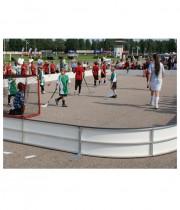 Florbola laukuma apmales - florbola āra laukums NDR outdoor 20 x 10 m