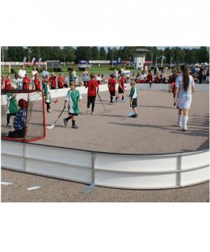 Florbola laukuma apmales - florbola āra laukums NDR outdoor 40 x 20 m