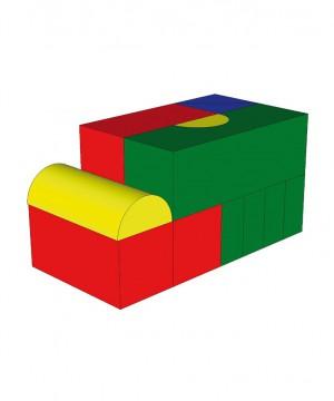 Mīksto moduļu komplekts NDR puzzle (13 gab.) art. 1308