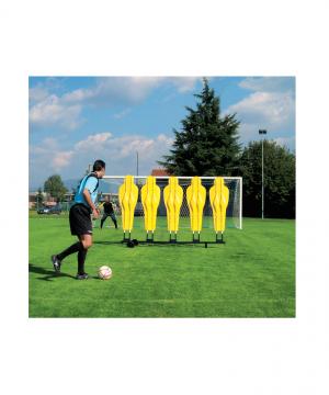 Ratiņi NDR manekenu komplekta novietošanai futbola treniņiem