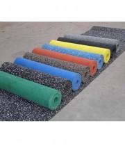 Gumijas paklājs svaru zālei, fitnesa zālei NDR 12mm