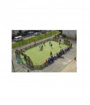 Multifunkcionāls sporta laukums ar apmalēm NDR 20x10m