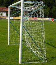 Futbola vārti NDR ar alumīnija profilu 80mm 5x2m (pāris)