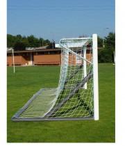 Futbola vārti 5 x 2m brīvi stāvoši - alumīnija  (art.5921)