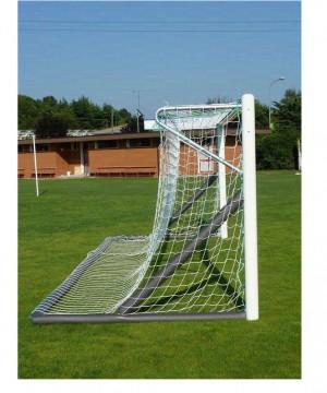 Futbola vārti 6 x 2m brīvi stāvoši - alumīnija  (art.5911)