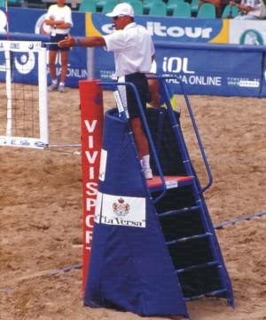 Polsteris pludmales volejbola tiesnešu platformai VV(art. 5428)