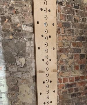 Rapšanās/kāpšanas siena NDR PEG BOARD 159x290x35mm